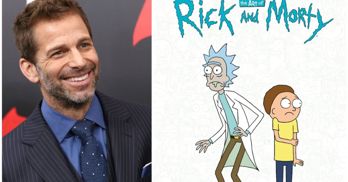 """Will Zack Snyder direct a """"Rick and Morty"""" movie?"""