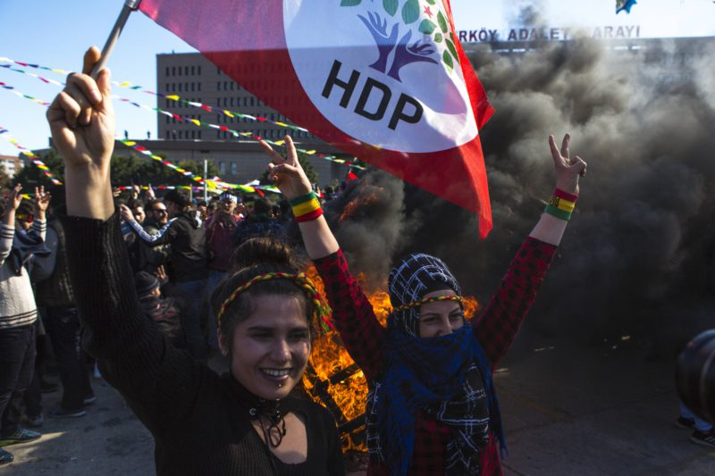 Woman killed in armed attack on pro-Kurdish party headquarters in Turkey