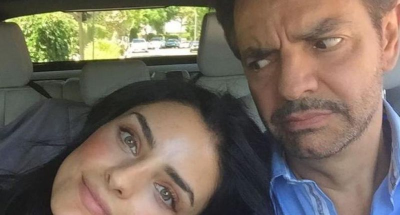 Aislinn Derbez and the unique message she dedicated to Eugenio Derbez for Father's Day