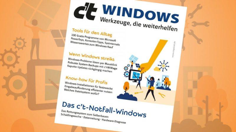 c't Windows tools that help