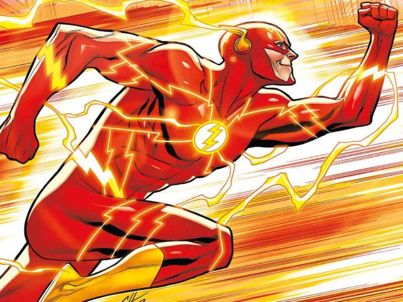 Flash: Union makes failure.  Meet Barry Allen, he's always late