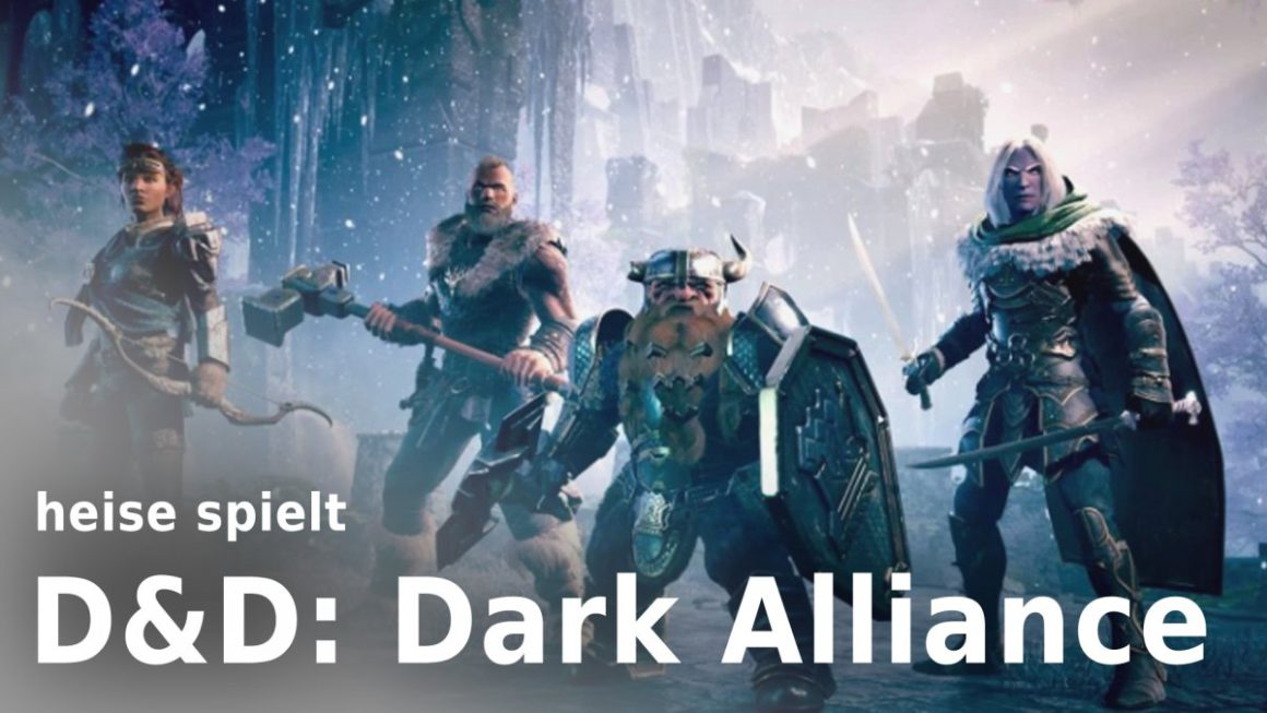 """heise plays """"Dark Alliance"""" live from 6 pm: Loot train towards Icewind Dale"""