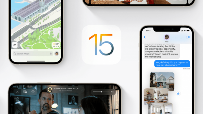 iOS 15 implements more drag and drop