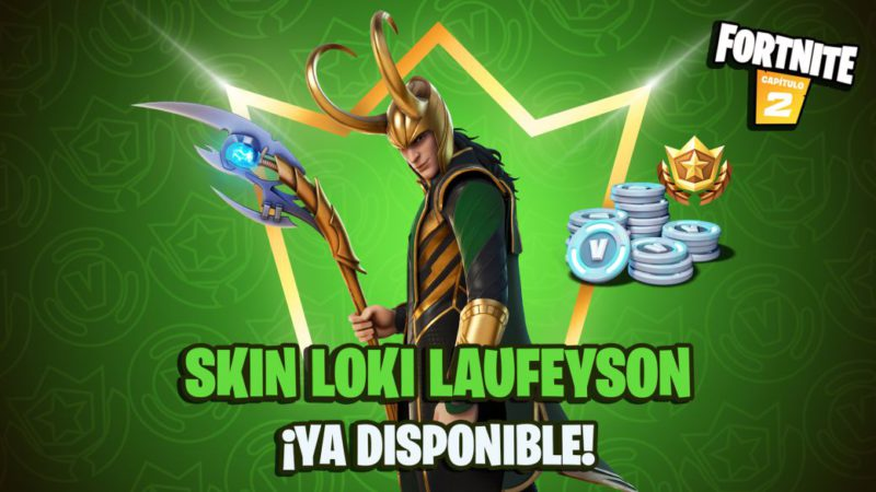 Fortnite Club July 2021: Loki Laufeyson skin and his items now available