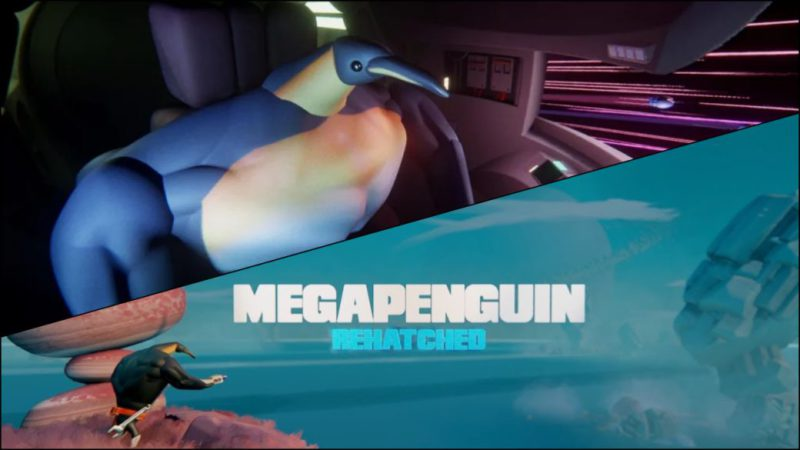 Megapenguin Rehatched, a new adventure in Dreams made by the community