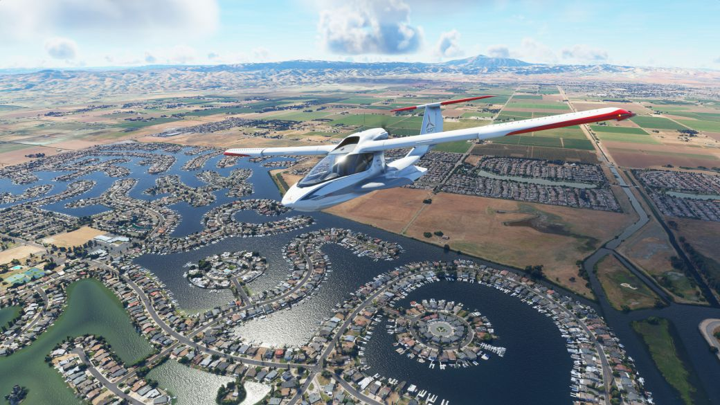 Microsoft Flight Simulator will improve its performance with the Xbox Series X   S version