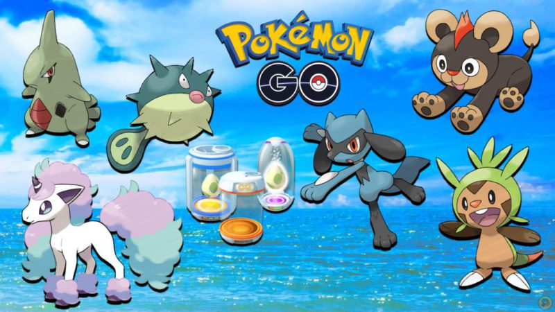 Pokémon GO: all Eggs of 2, 5, 7, 10 and 12 km (July 2021)