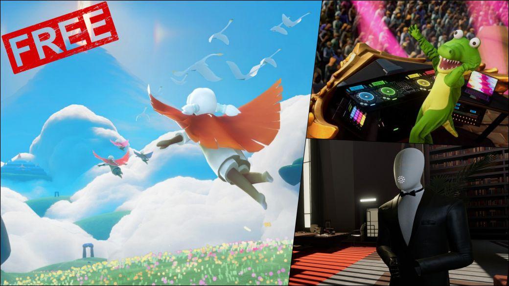 Juegos gratis primer fin de semana julio conker fuser sky ps5 ps4 nintendo switch xbox