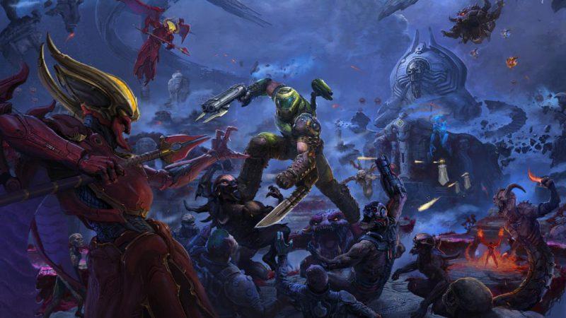 DOOM Eternal Makes Its Future Plans: Horde Mode and Renewed Battlemode