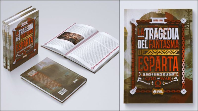 Announced 'The Tragedy of the Ghost of Sparta', the new book dedicated to God of War