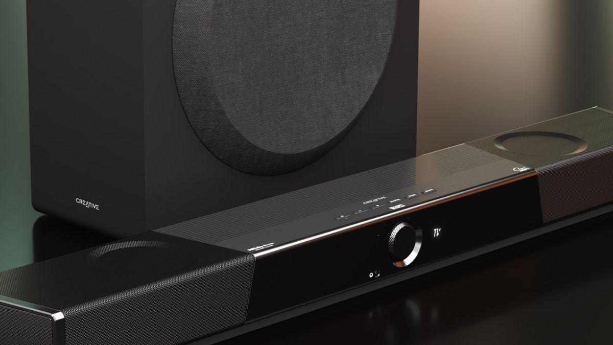 Creative SXFI CARRIER: Así es la nueva barra de sonido con tecnología holográfica