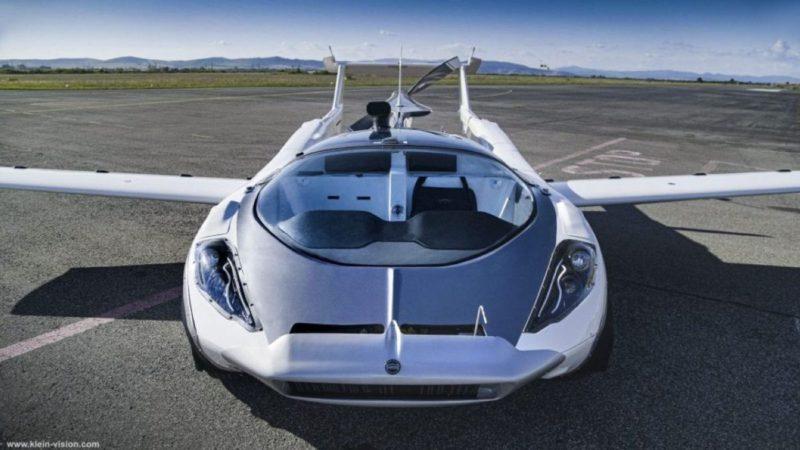 Este coche volador logra volar 80 km en 35 minutos, y tarda 2 en 'transformarse'