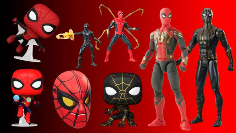 Spider-Man No Way Home: Marvel Introduces Funkos and Toys with New Looks at Suit