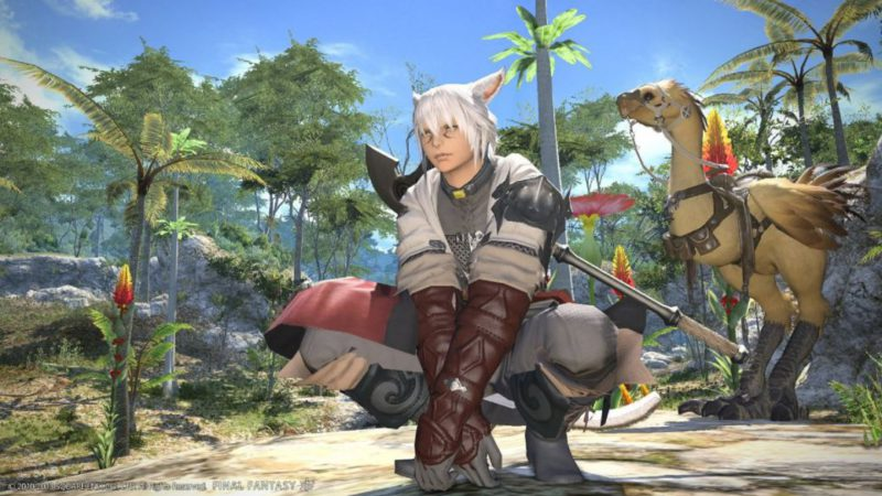 Final Fantasy XIV breaks its record for concurrent users on Steam