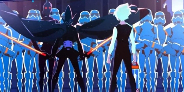 First look at the Star Wars: Visions anime!