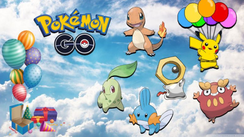 Pokémon GO - 5th Anniversary Event: date, time, features and bonuses