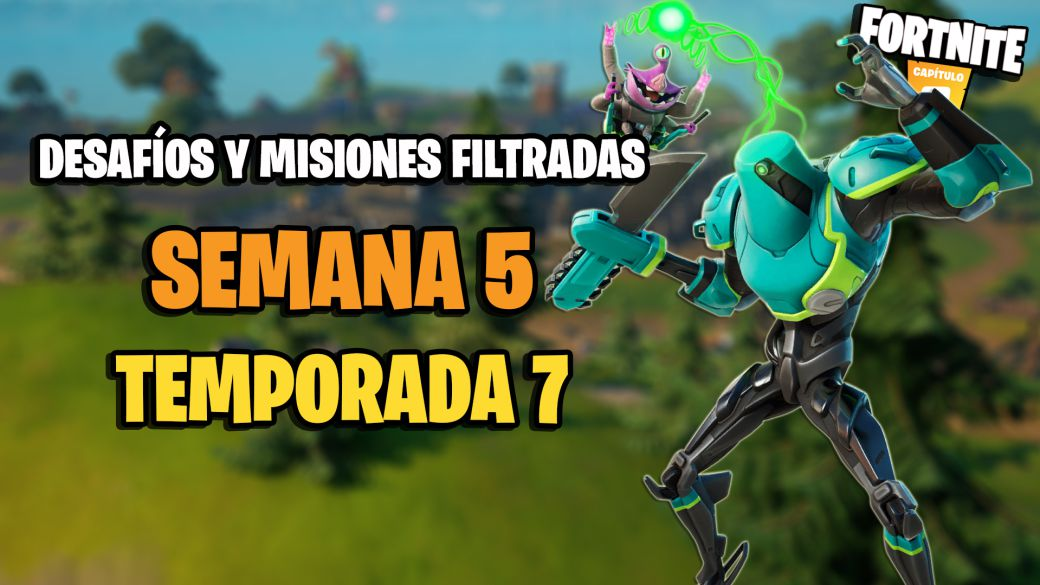 Fortnite Season 7: Week 5 Leaked Challenges and Missions
