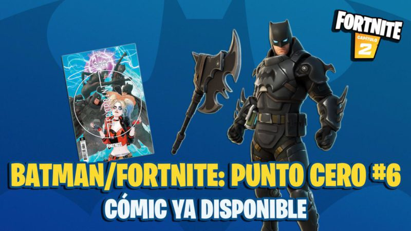Batman x Fortnite Comic: Zero Point 6 Now Available;  where to buy and how to redeem the code