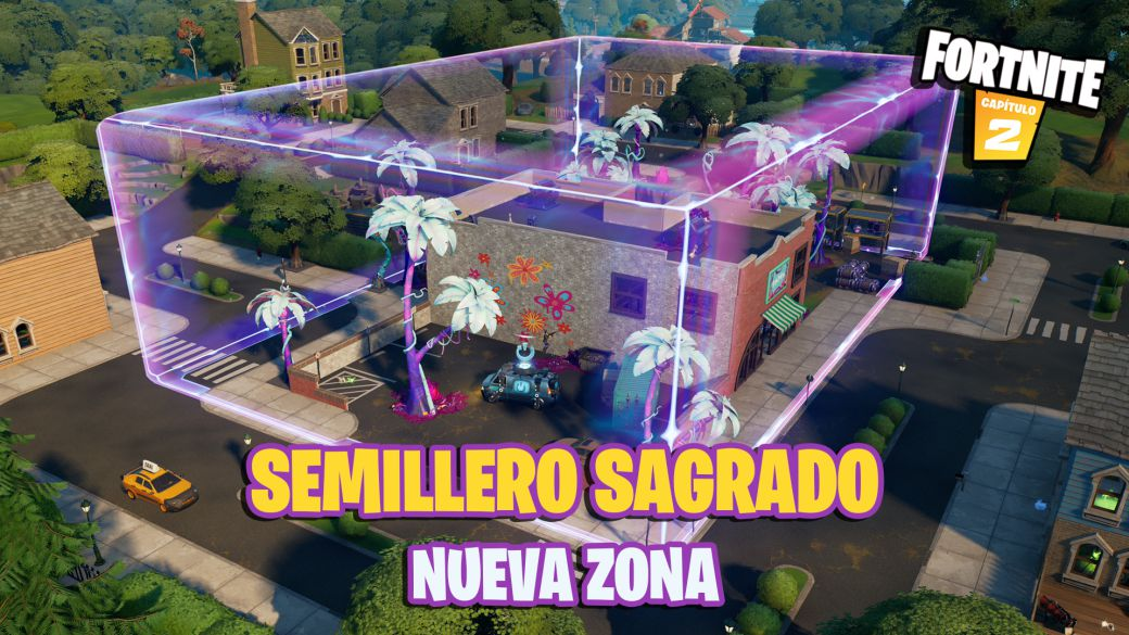 Fortnite: Sacred Hedges becomes Sacred Hotbed;  this is the new area
