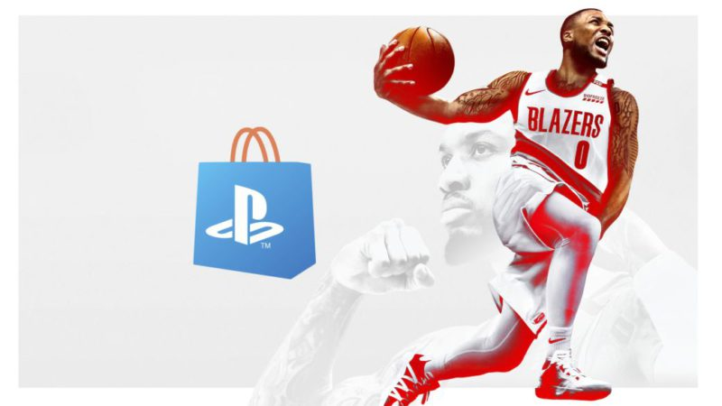 NBA 2K21 for PS4 for less than 5 euros in PS Store;  compatible with PS5