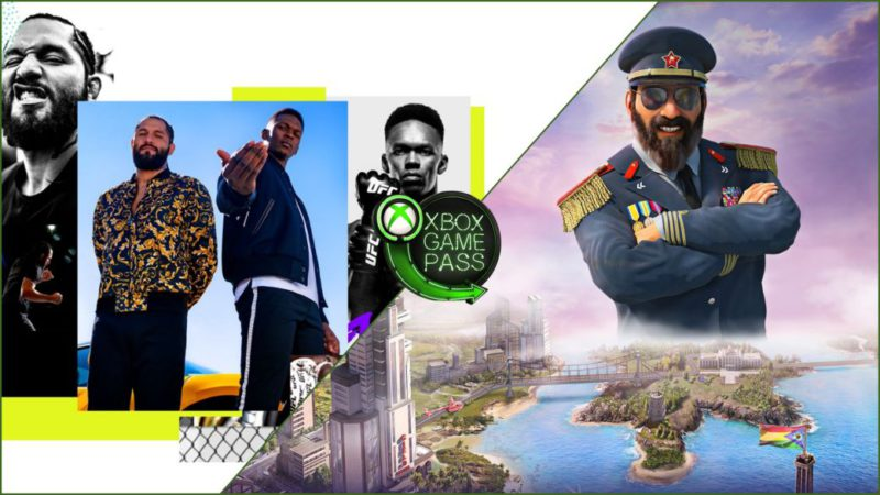 New additions to Xbox Game Pass in July: UFC 4, Tropico 6 and more