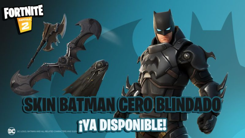 Fortnite: Zero Armored Batman skin now in store;  price and contents