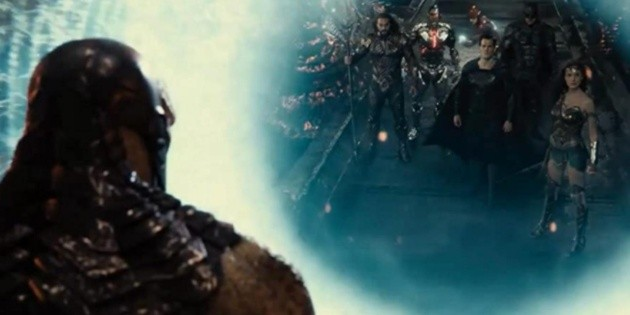 The Snyderverse would take the Justice League into outer space