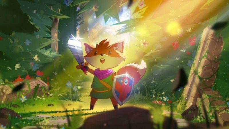 Inside Tunic;  finji's enchanting adventure