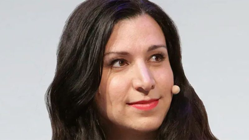 Tatiana Delgado, winner of the CIMA Games Award for Talent in the Video Game Industry