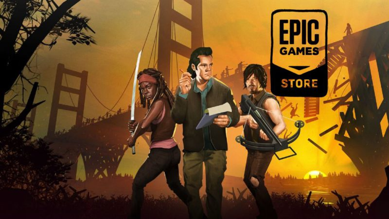 Bridge Constructor: The Walking Dead, among the free games on the Epic Games Store