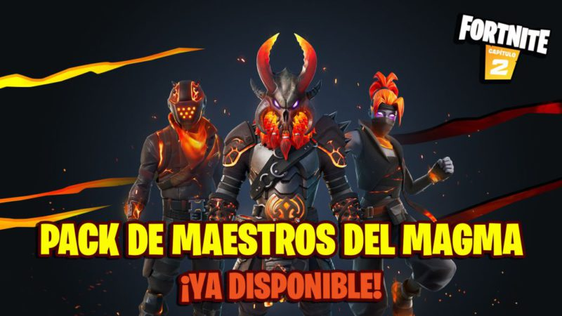 Fortnite: Magma Masters Pack Now Available;  price and contents