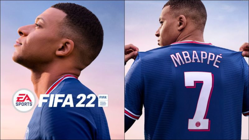 FIFA 22 confirms its official cover: Kylian Mbappé is the star again
