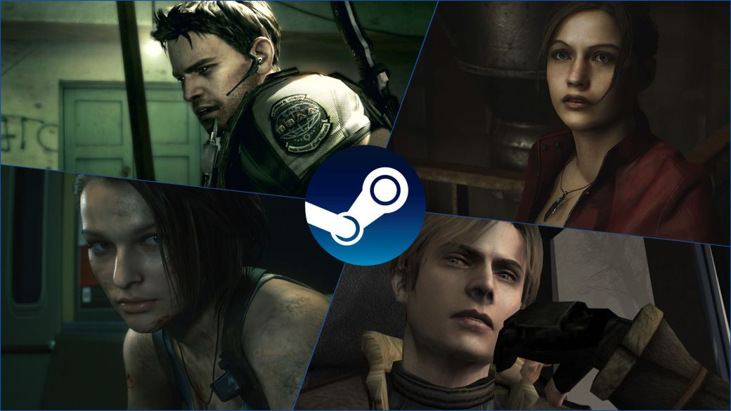 Resident Evil on Steam: offers in the saga with up to 87% discount