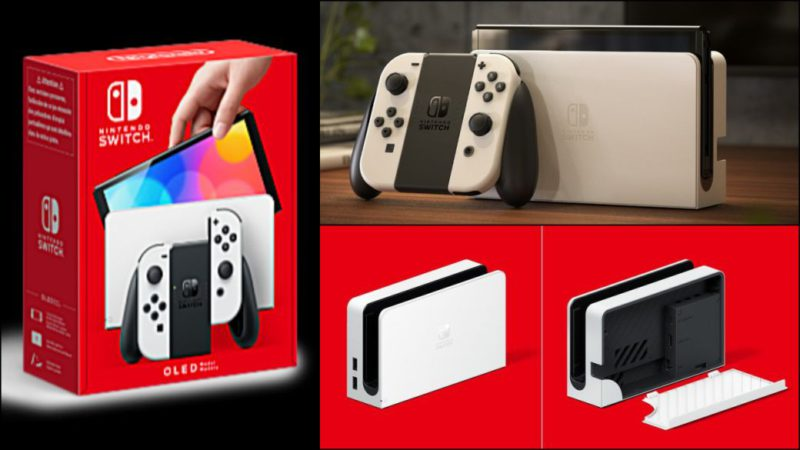Nintendo Switch OLED, what will we find in the box?  All that will include