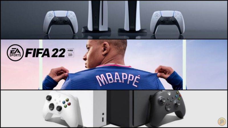 FIFA 22 for PS5 and Xbox Series, free if you buy the Ultimate Edition on PS4 or Xbox One