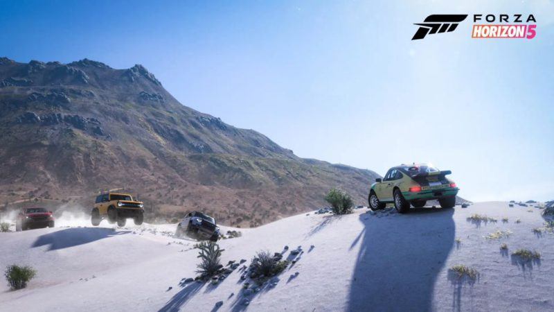 Forza Horizon 5 confirms new details: cities, animals, convertibles and more