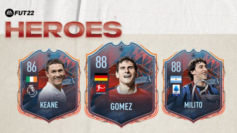 FIFA 22 FUT Heroes: this is the new Ultimate Team cards and confirmed players
