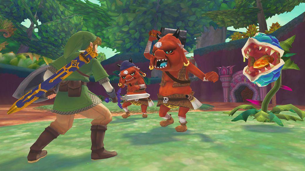 The Legend of Zelda: Skyward Sword HD - Video Shows Free Camera Added