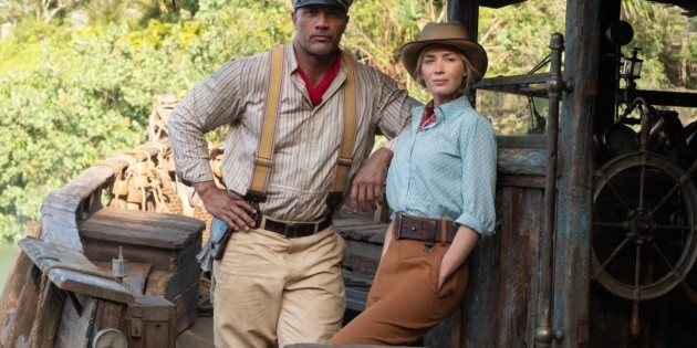 Dwayne Johnson and Emily Blunt's chemistry on Jungle Cruise is undeniable