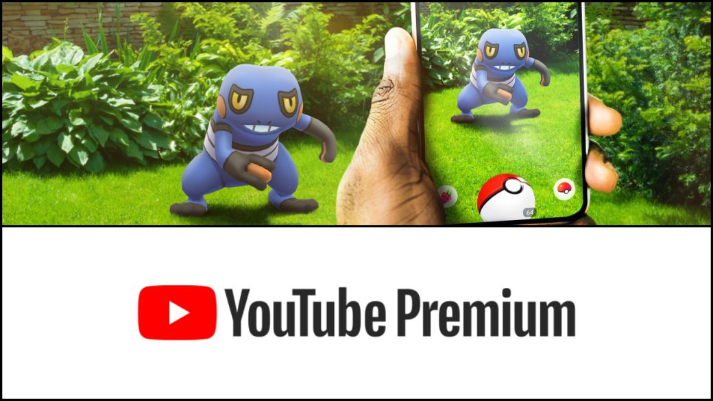 Pokémon GO: get 3 months of YouTube Premium for free;  All the details