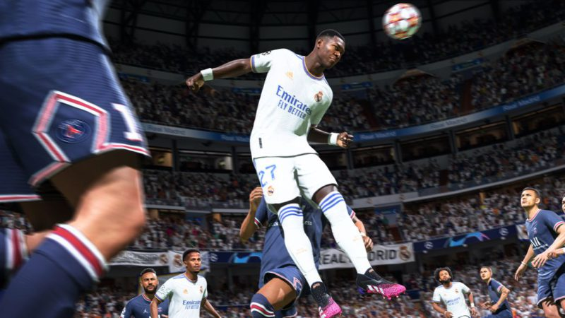 FIFA 22 joins Real Madrid: HyperMotion ambassador club with Alaba, Marcelo and Vinicius