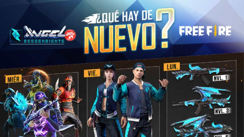 Free Fire: weekly schedule from July 14 to 20 with Angelic Tower and Dragon Recharge