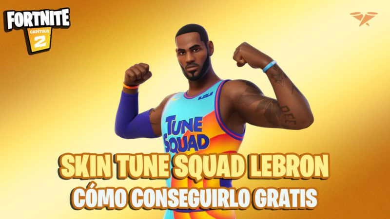 Fortnite: how to get the Tune Squad LeBron skin for free