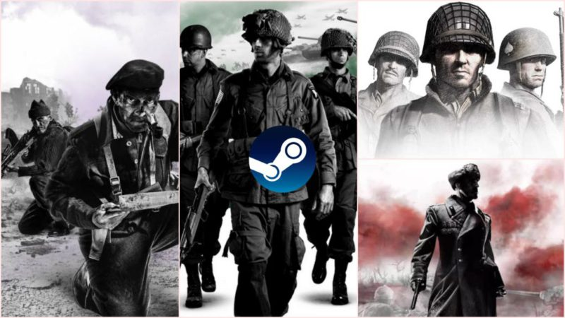 Going to Company of Heroes 3: discounts on the saga of up to 95% on Steam