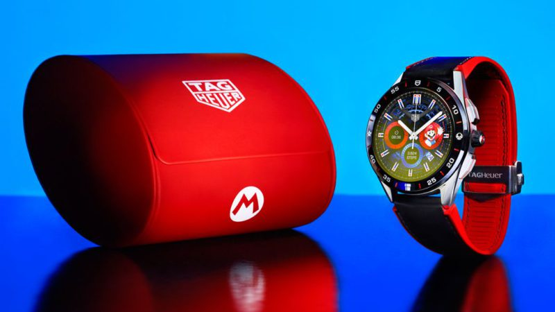 TAG Heuer and Nintendo join forces to introduce the official Super Mario smartwatch