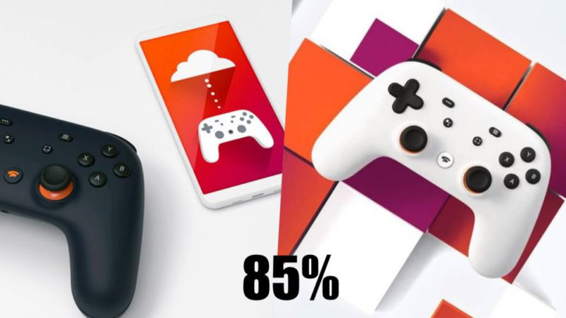 Google Stadia will offer 85% of each sale to developers for a limited time