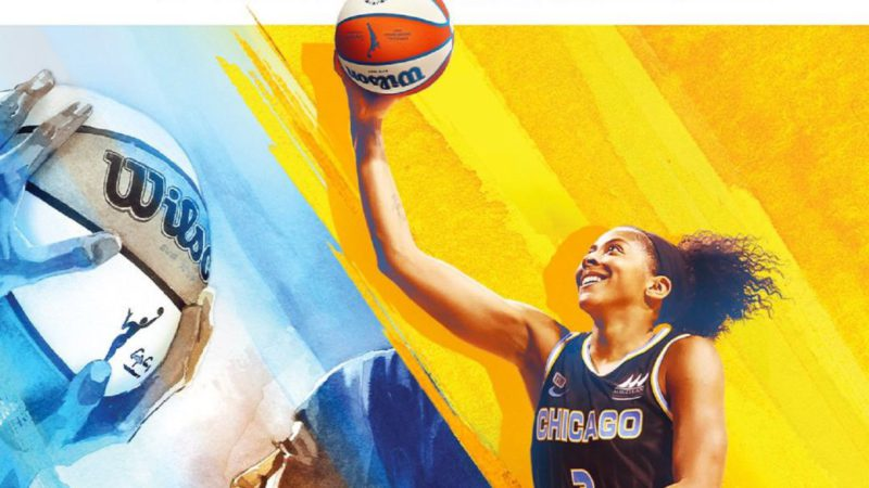 NBA 2K22 and Candace Parker make history: first woman to be the cover of the saga