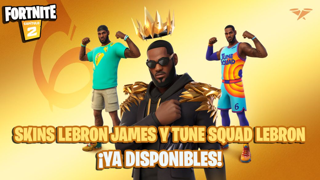 Fortnite: LeBron James and Tune Squad LeBron skins now available;  price and contents