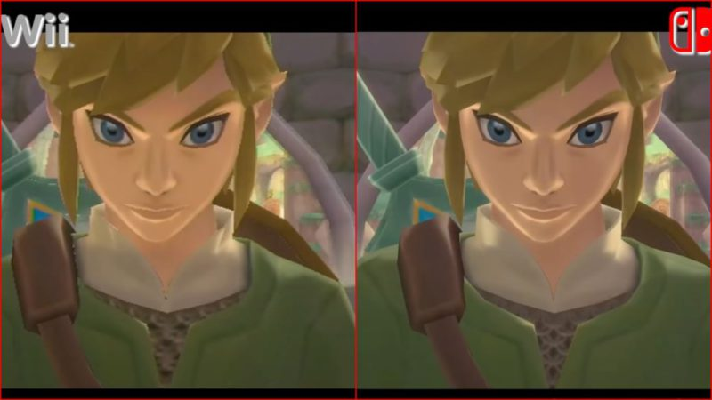 Zelda: Skyward Sword, has your loading times improved?  Nintendo Switch vs Wii