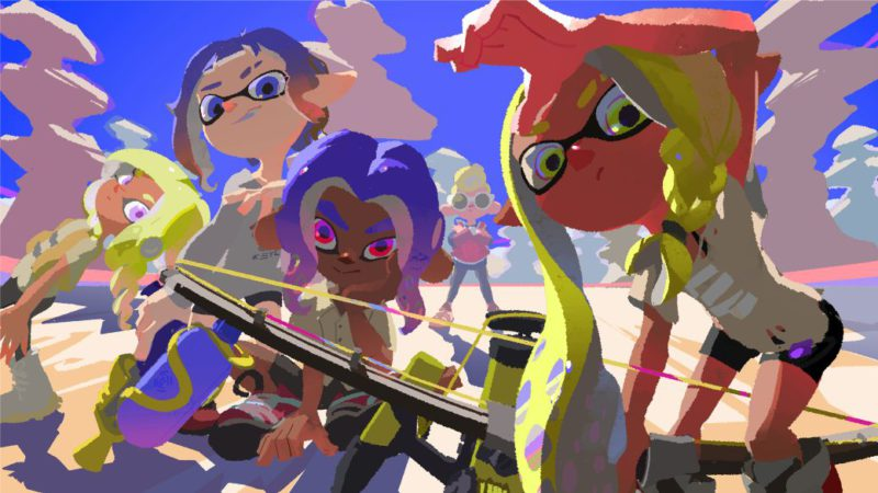 Splatoon 3 Celebrates Summer With New Official Art;  will arrive in 2022 on Switch